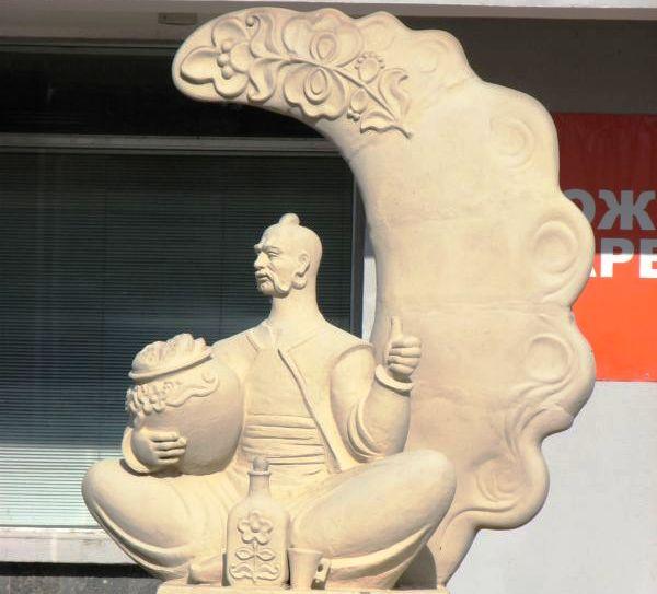 Памятник украинскому варенику