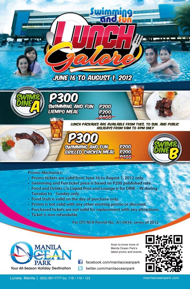 Manila Shopper Manila Ocean Park Swimming Packages Promo