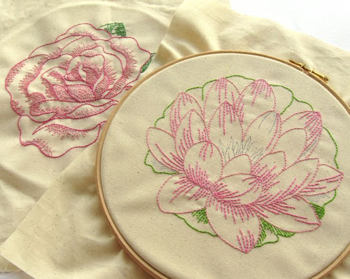 http://bugsandfishes.blogspot.co.uk/2014/06/vintage-flowers-in-progress.html