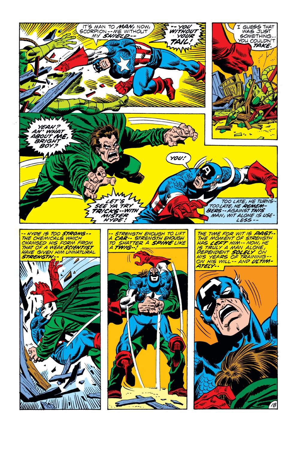 Captain America (1968) Issue #152 #66 - English 19