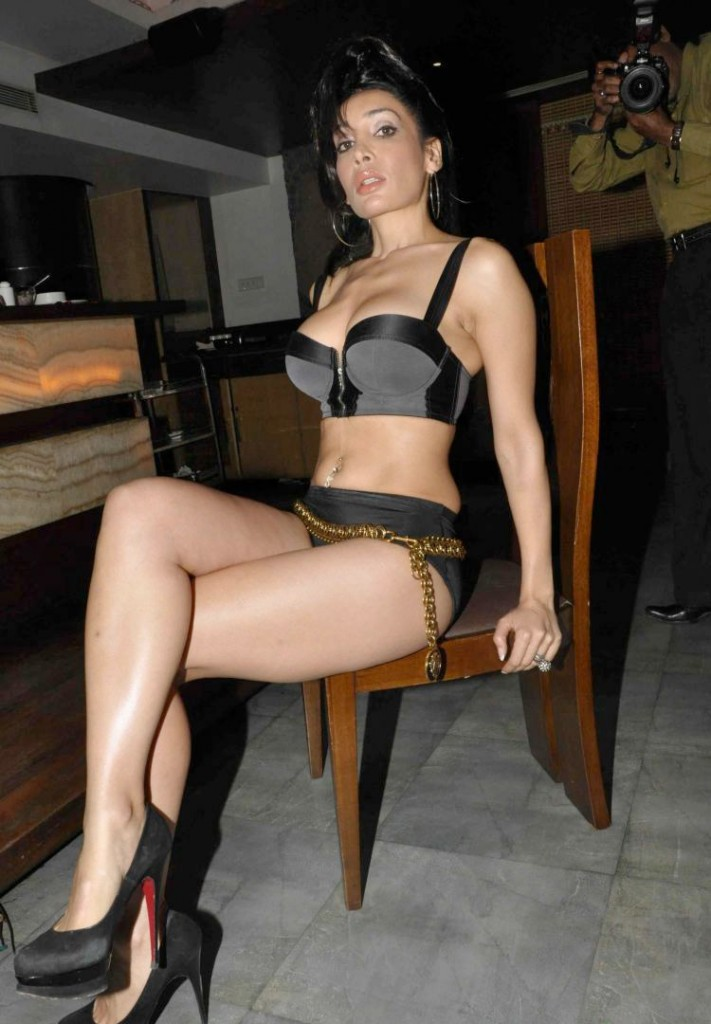 British and Indian Actress Sofia Hayat Spicy Photoshoot Stills in ...