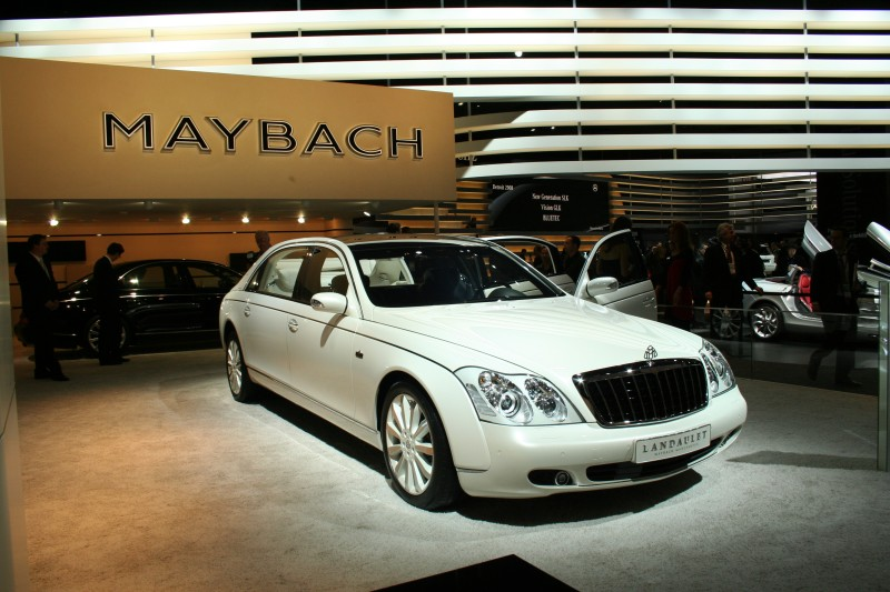 Maybach Landaulet is one of the luxury cars in Europe, and the car was