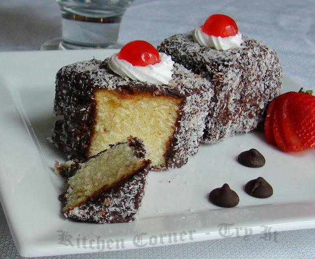 Lamington Cake Recipe Dairy Free