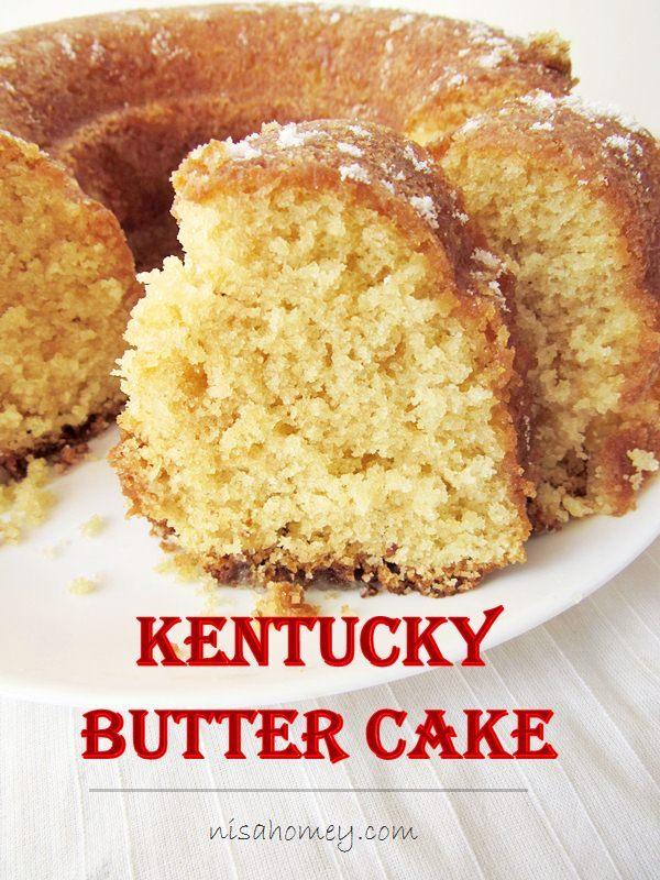 Recipe For Kentucky Butter Rum Cake