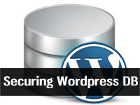 securing wordpress database