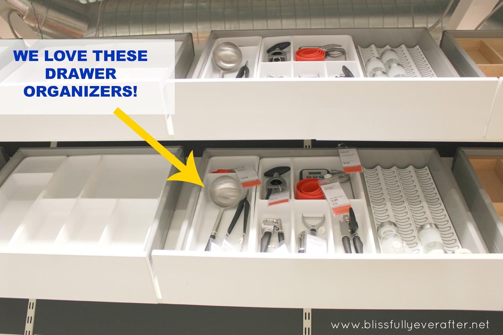 Ikea Kitchen Drawer Organizers Organizer Dividers Custom
