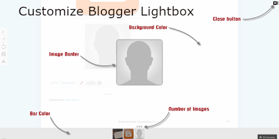 How to Customize Blogger Lightbox Backgrounds Colors Using CSS