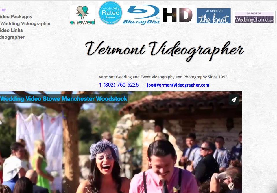 www.VermontVideographer.com