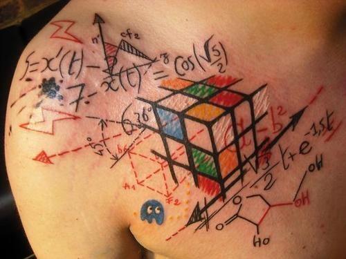 No creo lo que veo tatuajes matematicos 2 for Tattoos and eczema