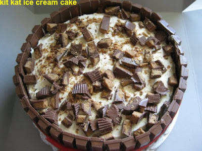 kit kat ice cream cake