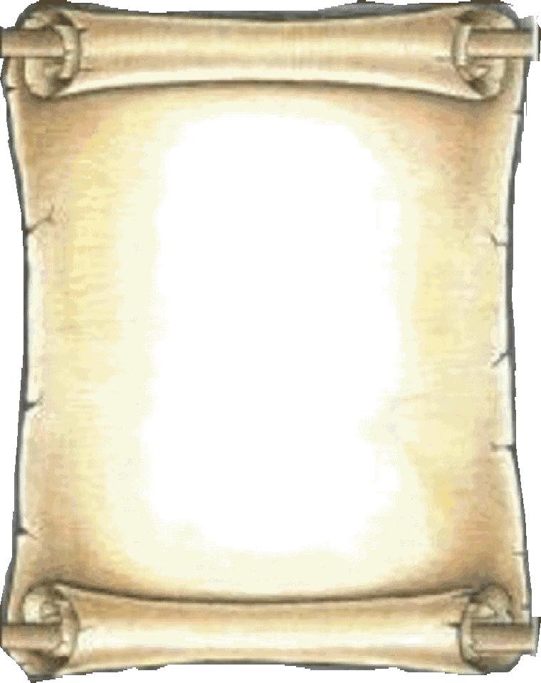 Blank Scroll Template