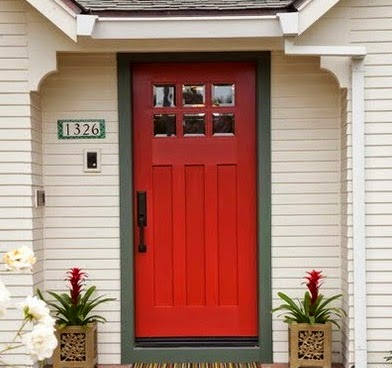 Misteri dan Arti Warna Pintu Rumah Yang Berwarna Merah
