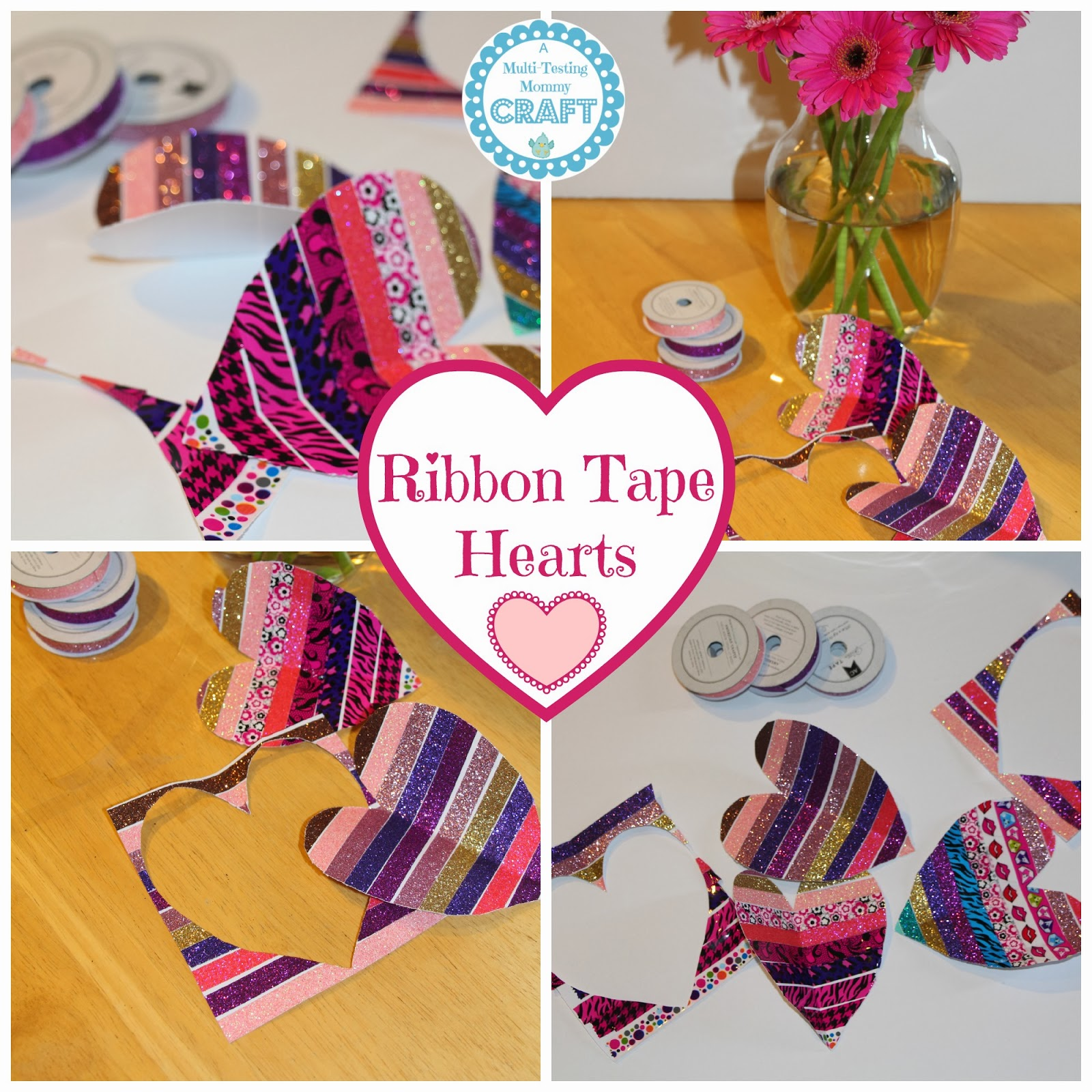 Tape Fancy Fancy Tape Hearts {craft}