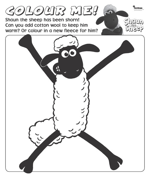 Pinterest The World S Catalog Of Ideas Shaun The Sheep Colouring Pages