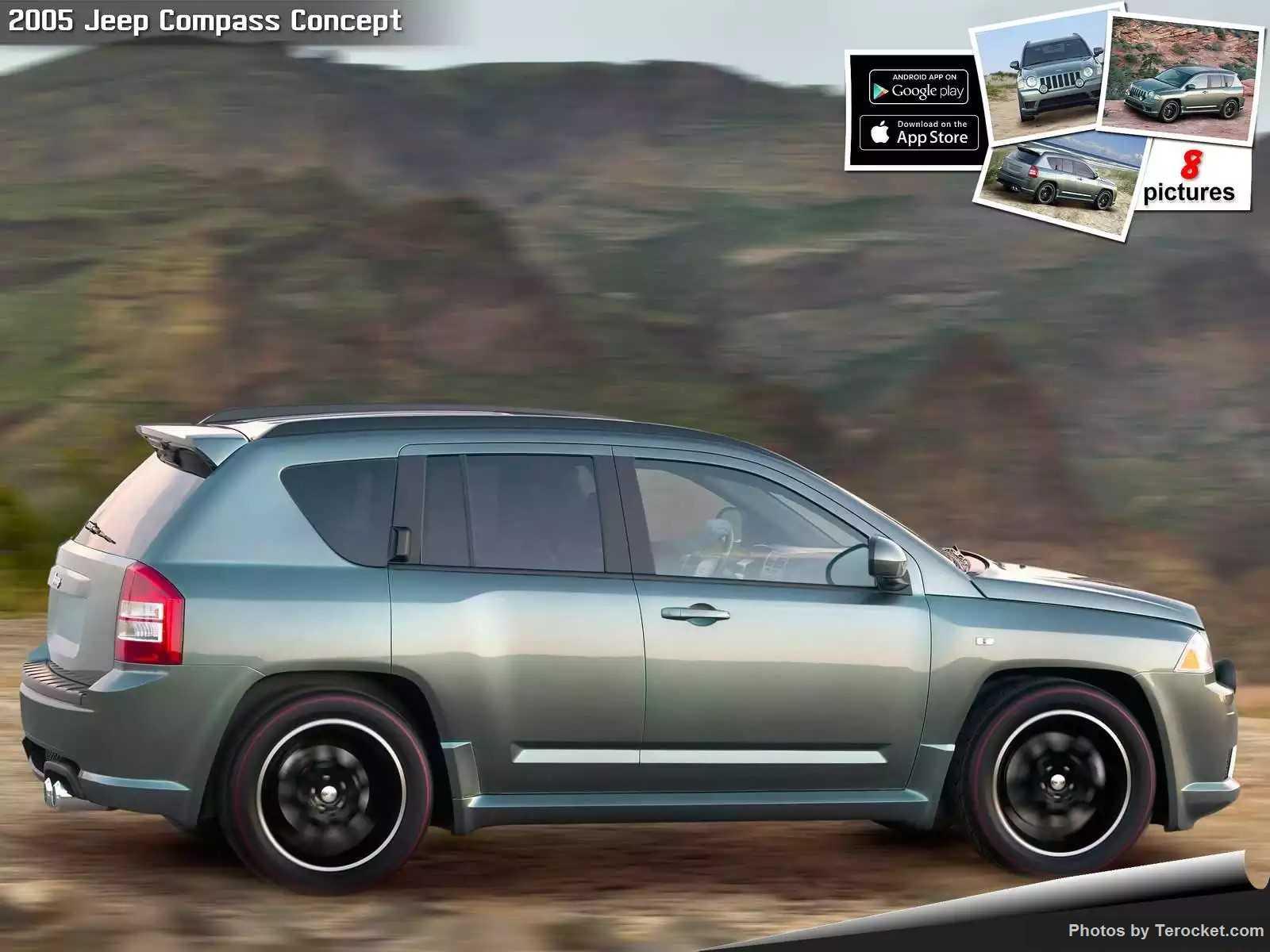 Hình ảnh xe ô tô Jeep Compass Concept 2005 & nội ngoại thất