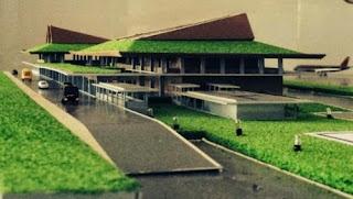 Maket Bandara Blimbingsari Banyuwangi