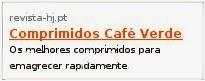 Compimidos Cafe Verde
