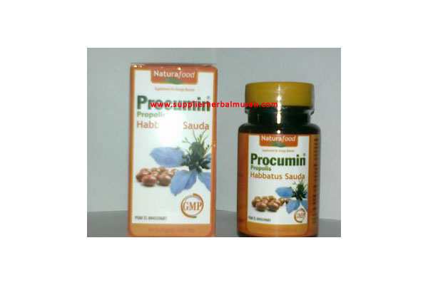 PROCUMIN PROPOLIS HABBATUSSAUDA (30 softgels 500 mg)