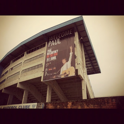 Último show de Paul McCartney no Brasil completa 1 ano