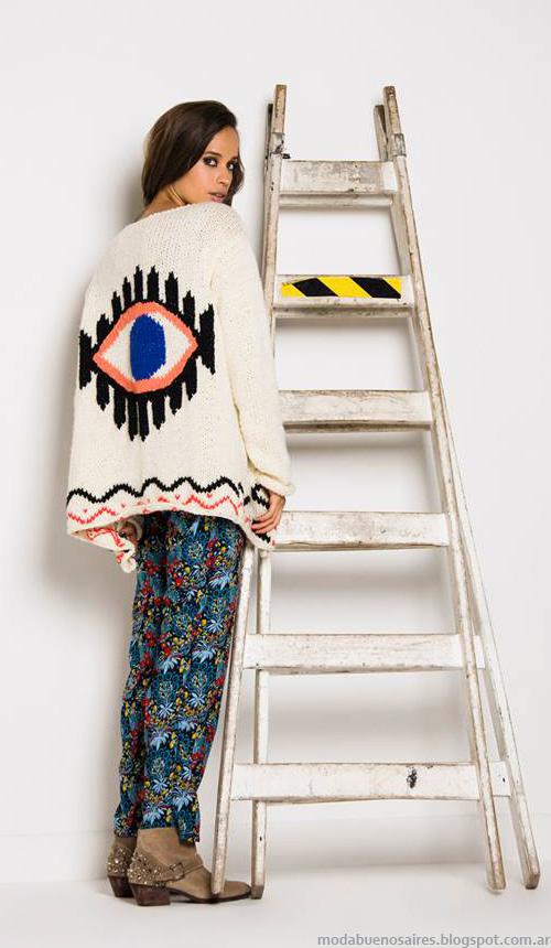 Sacos tejidos Doll Store otoño invierno 2014.