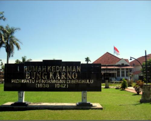 Rumah pengasingan Ir. Soekarno