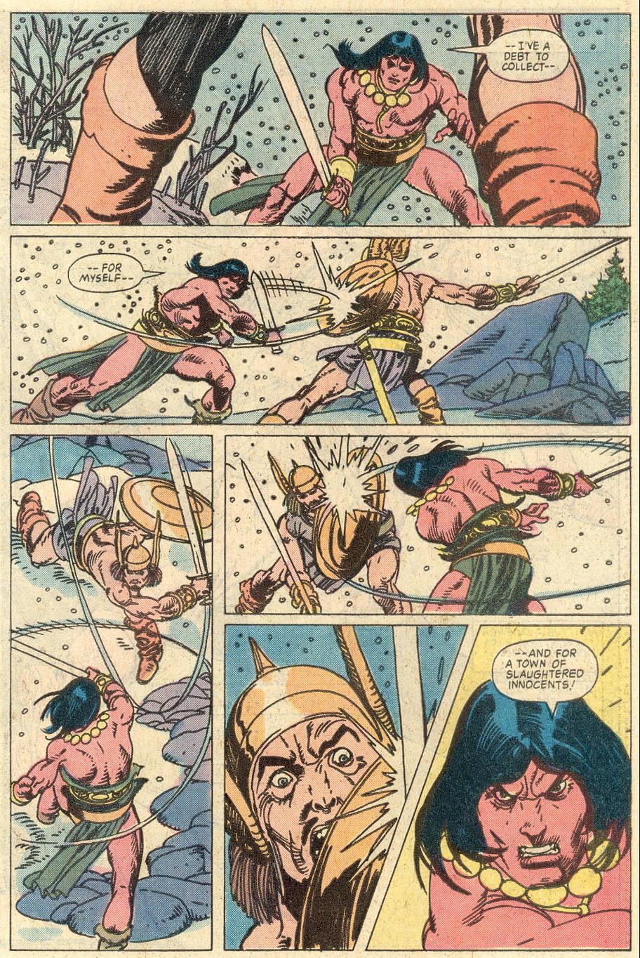 Conan the Barbarian (1970) Issue #127 #139 - English 17