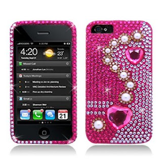 pearl pink diamond iphone 5 cases