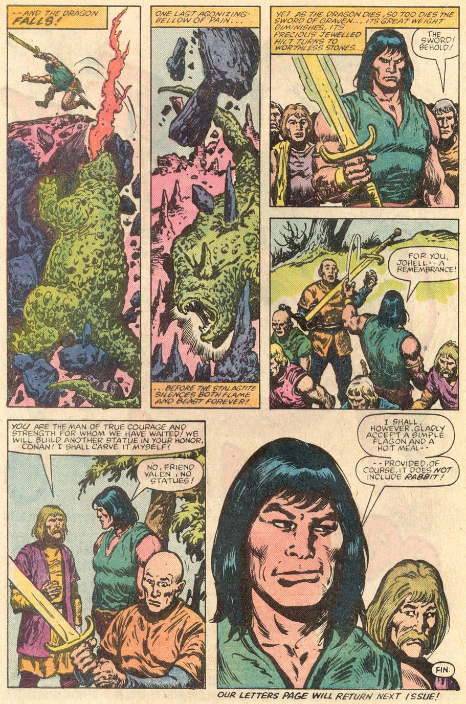 Conan the Barbarian (1970) Issue #144 #156 - English 23