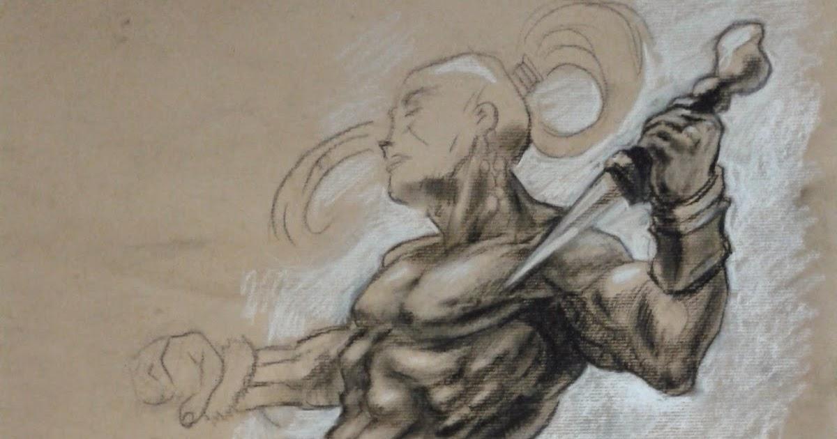 Character Design Opleiding : Tips en tekenles warrior tekenen character design