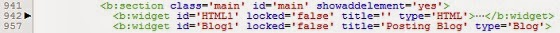 cara menerapkan dan memasukkan tag conditional blogger pada widget