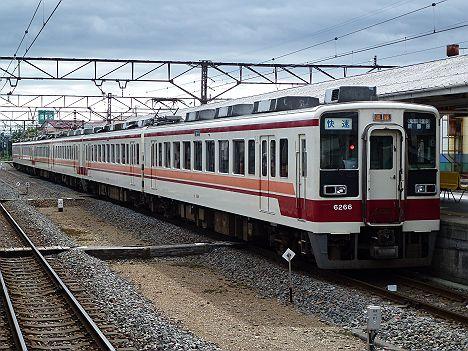 東武伊勢崎線・日光線 快速 新藤原行き 6050系(廃止)