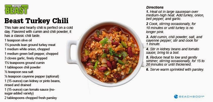 chicken fajitas, dream team, easy recipes, lean protein, coach, paula chavez beachbody body beast, turkey chili,  lean eating