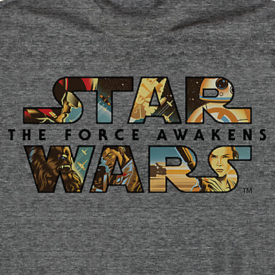 Star Wars: The Force Awakens Limited Release T-Shirt by Eric Tan