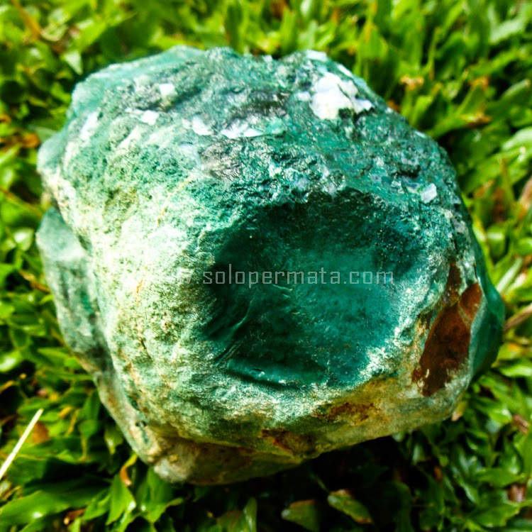 Jual Bahan Batu Permata Bacan Chrysocolla