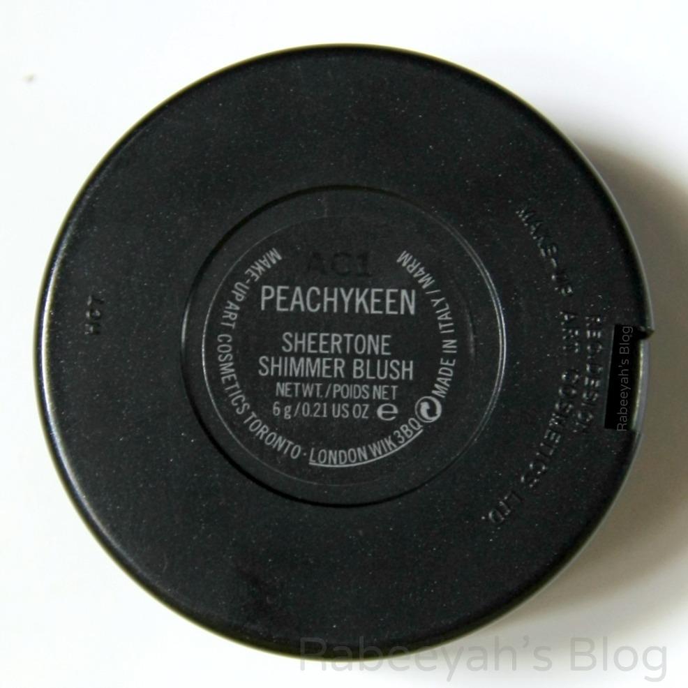 MAC Sheertone Shimmer Powder Blush