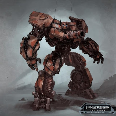transformers dark of the moon megatron concept art. DOTM The Game Concept Art