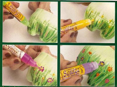 Hacer manualidades con botellas