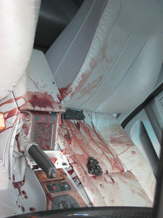 And I Captured The Gory Scene Before Thanking Detective Hurrying Back To Safety Of My Cottage An Hour Later Car Had Gone