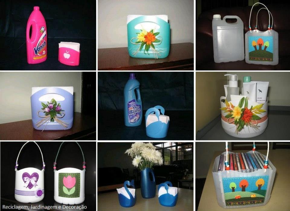 Reciclar Botellas De Plastico Para Decorar ~ Algumas ideias entraram diretamente para a lista dos projetos a m?dio