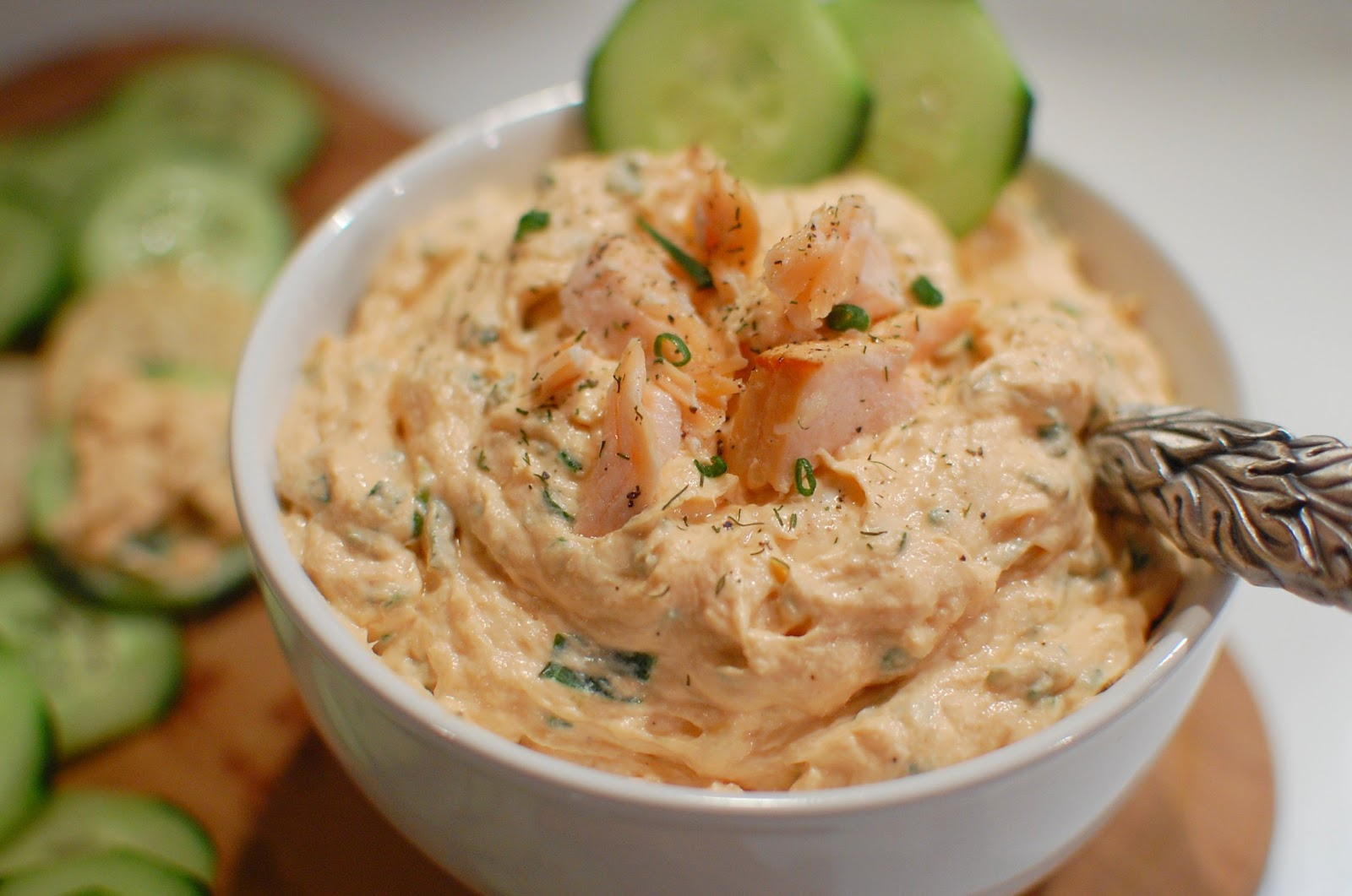 Reckless Abandon: Smoked Salmon Spread