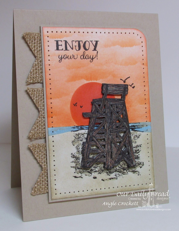 ODBD My Lifeguard, Flip Flop Fun, Card Designer Angie Crockett