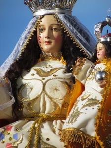 Mayo 14 - Virgen de los Pobres - Santuario de Cayma