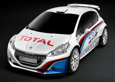 Peugeot 208 R5 Rally Car 2013