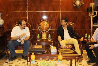 visit of Sheikh Faisal Bin Khalifeh Al-Thane