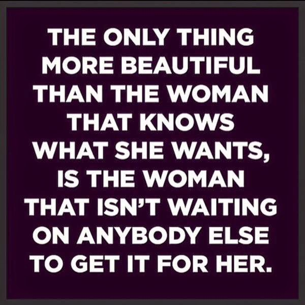 Real women don't wait