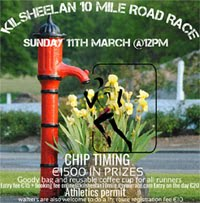 New 10 mile race nr Clonmel in Tipp...Sun 11th March