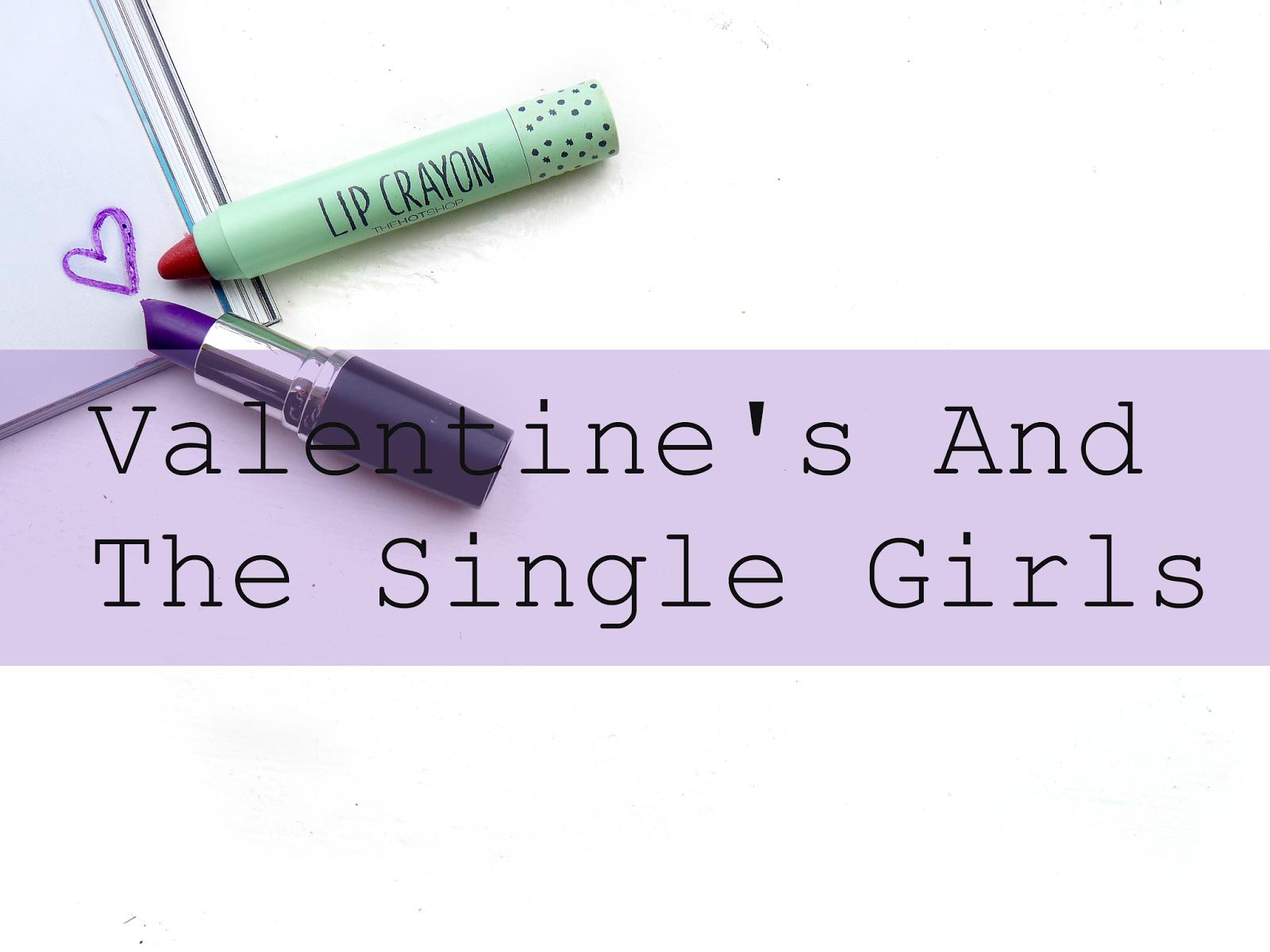 Valentines day single girls girl