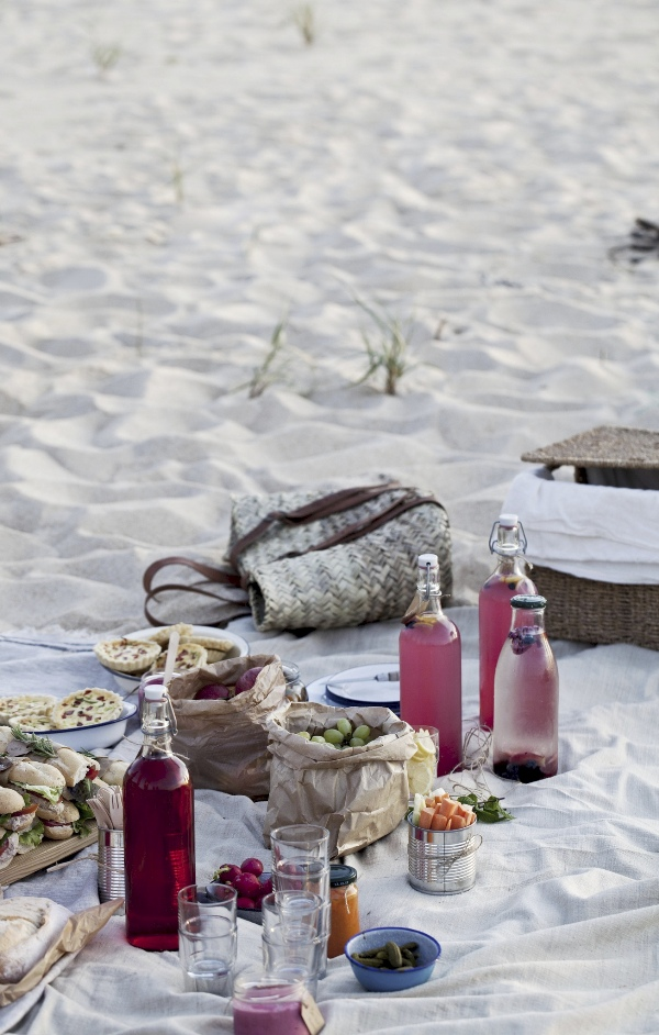 end of summer party beach picnic