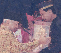 National Youth Pioneer Award from Soeharto