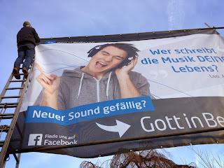 Banner Südkreuz - Zwischenstand; Photo by Thomas Gerlach